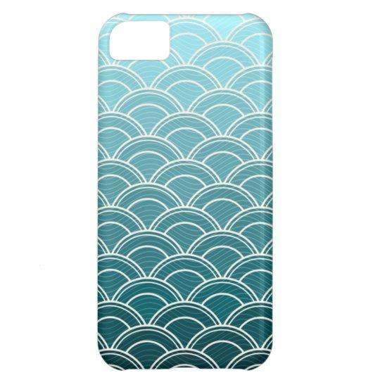 Ocean Waves Pattern iPhone 5/5S Case