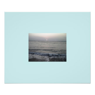ocean waves photo print