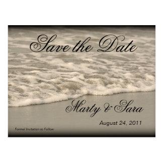 Ocean Waves Postcard
