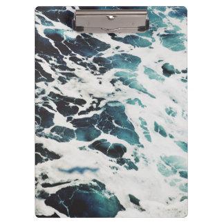 ocean waves sea beautiful blue water clipboard