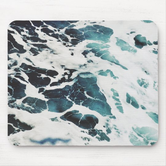 ocean waves sea beautiful blue water mousepad