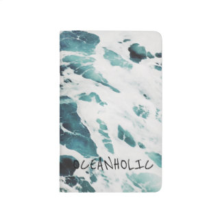 ocean waves sea nature quotes blue water notebook journal