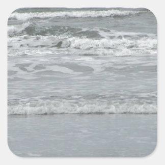 Ocean Waves Square Sticker