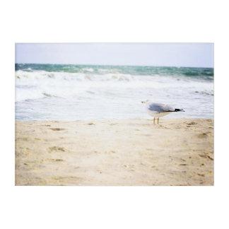 Ocean Waves Surf Seagull Water Beach Decor Acrylic