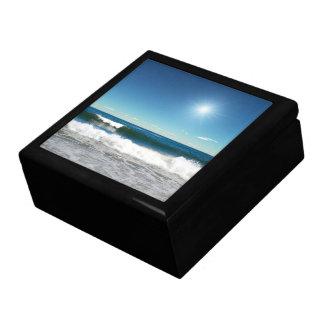 Ocean Waves Trinket Box