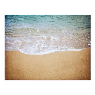 Ocean Waves Tropical Photography Postcard