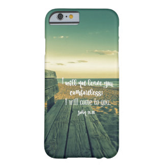 Ocean with Comforting Bible Verse (John) Barely There iPhone 6 Case