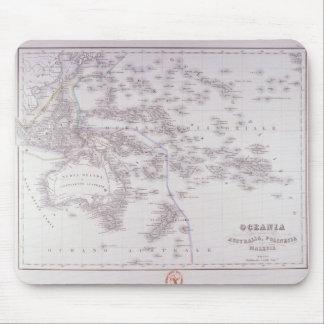 Oceania (Australia, Polynesia, and Malaysia) Mouse Pad