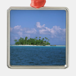 Oceania, French Polynesia, Tahiti. Small Christmas Ornament