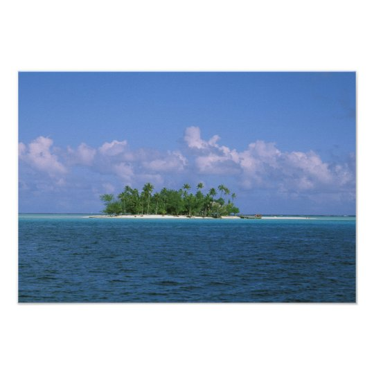 Oceania, French Polynesia, Tahiti. Small Poster