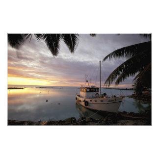 Oceania, Polynesia, Cook Islands, Aitutaki, Photo Print