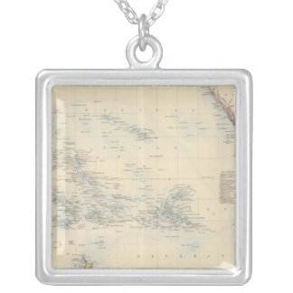 Oceania Silver Plated Necklace