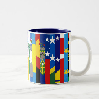 Oceanian Flags Mug