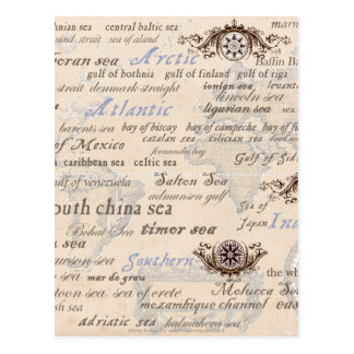 oceans by tony fernandes postcard