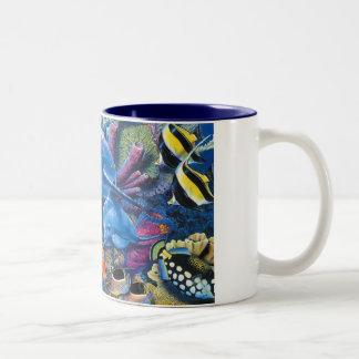 OCEANS COFFE Two-Tone MUG