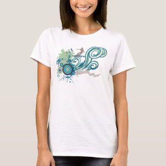 Oceans Music Rock Song Inspired Illustration Shirt