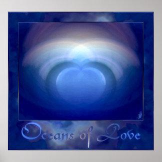 Oceans of Love Wedding Poster