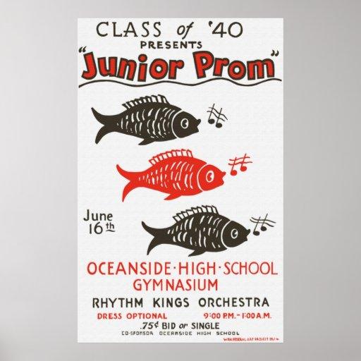 Oceanside High Junior Prom Poster