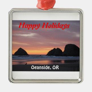 Oceanside, Oregon Ordiment Christmas Ornament
