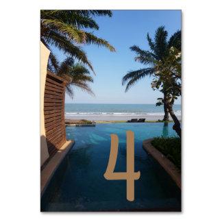 Oceanside Table Card