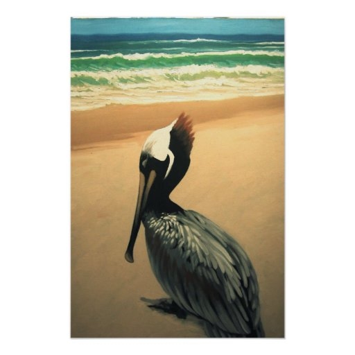 Oceanus: Pelican Poster