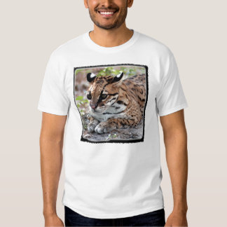 Ocelot 02 11x11 tshirt