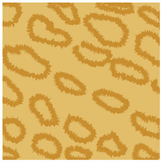 Ocelot Animal Print Pattern, Brown and Tan Colors. Photo Cut Out