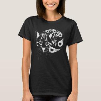 Ocelot Big Cat Ink Art T-Shirt