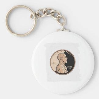 O'Change Basic Round Button Key Ring