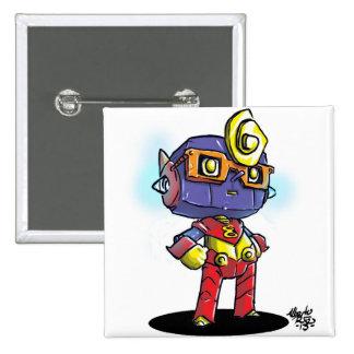 Ocho 15 Cm Square Badge