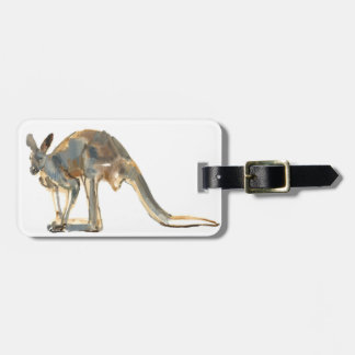 Ochre Dusted Luggage Tag
