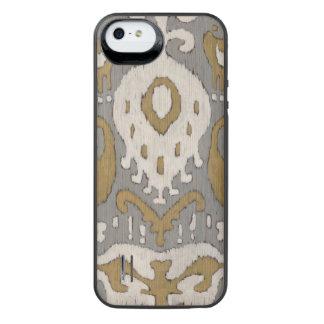 Ochre Ikat II iPhone SE/5/5s Battery Case