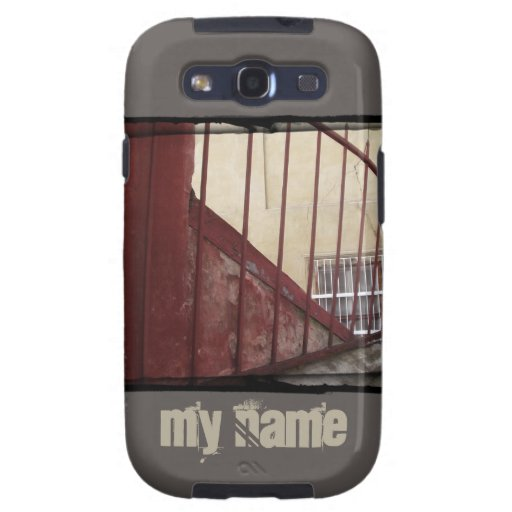 Ochre Railing | Customizable Case Samsung Galaxy S3 Covers