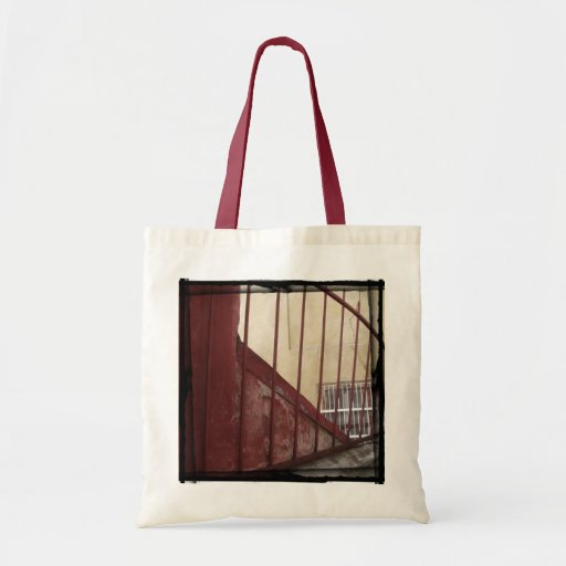 Ochre Railing | Customizable Tote Bag