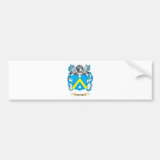 Ocker Coat of Arms (Family Crest) Bumper Sticker