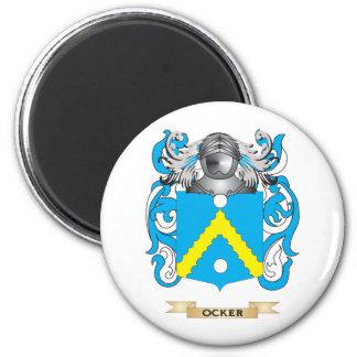 Ocker Coat of Arms (Family Crest) Fridge Magnets
