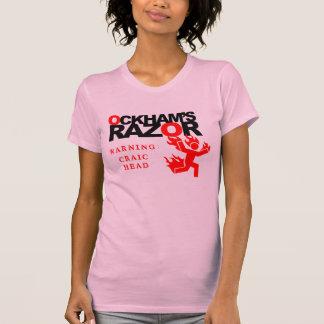 Ockham's Razor Woman's Craic Head Warning Shirt