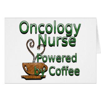 OCN Powered By Coffee Greeting Card