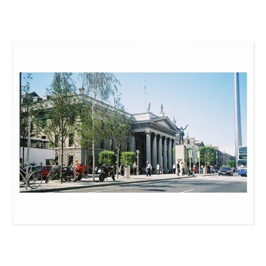O'Connell St. Dublin City Ireland Postcard