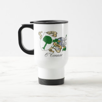 O'Connor Don Family Crest Stainless Steel Travel Mug