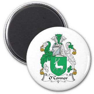 O'Connor Family Crest 6 Cm Round Magnet