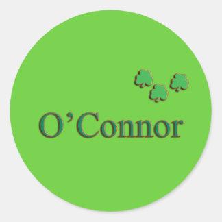 O'Connor Family Round Sticker