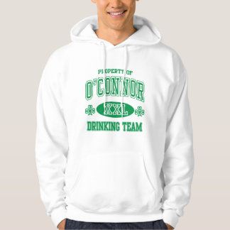 O'Connor Irish Drinking Team Hoodie