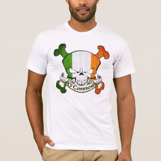 O'Connor Irish Skull T-Shirt
