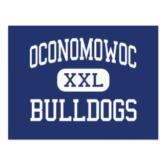 Oconomowoc Bulldogs Middle Oconomowoc Postcard