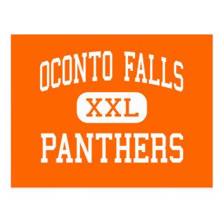 Oconto Falls - Panthers - High - Oconto Falls Postcard