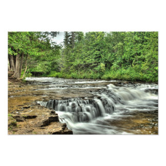 Ocqueoc Falls, Michigan Photo Print