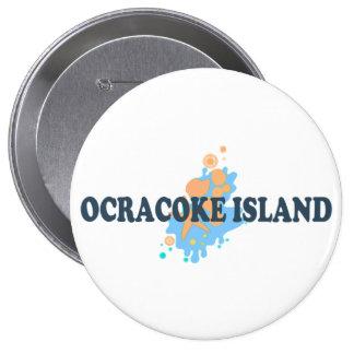 Ocracoke Island Button
