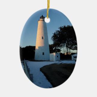 Ocracoke Island Christmas Christmas Ornament