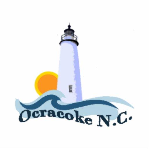 Ocracoke Island. Cut Outs